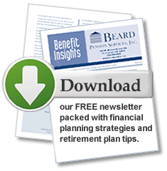 Download Our FREE newsletter packed with financial and planning strategies and retirement plan tips.